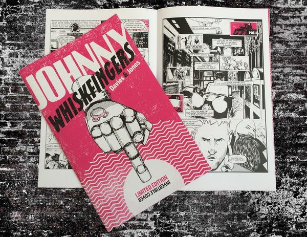 Image of Johnny Whiskfingers - issue 1. Limited Edition