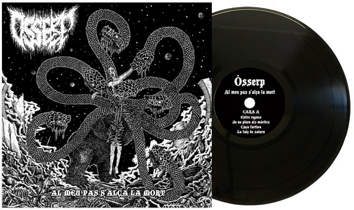 "Image of ÓSSERP - AL MEU PAS S'ALÇA LA MORT - 12"" BLACK"