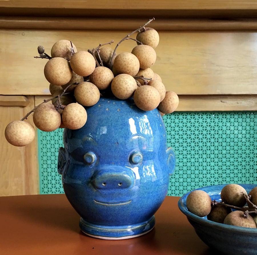 Image of Blue Sluggo Jar