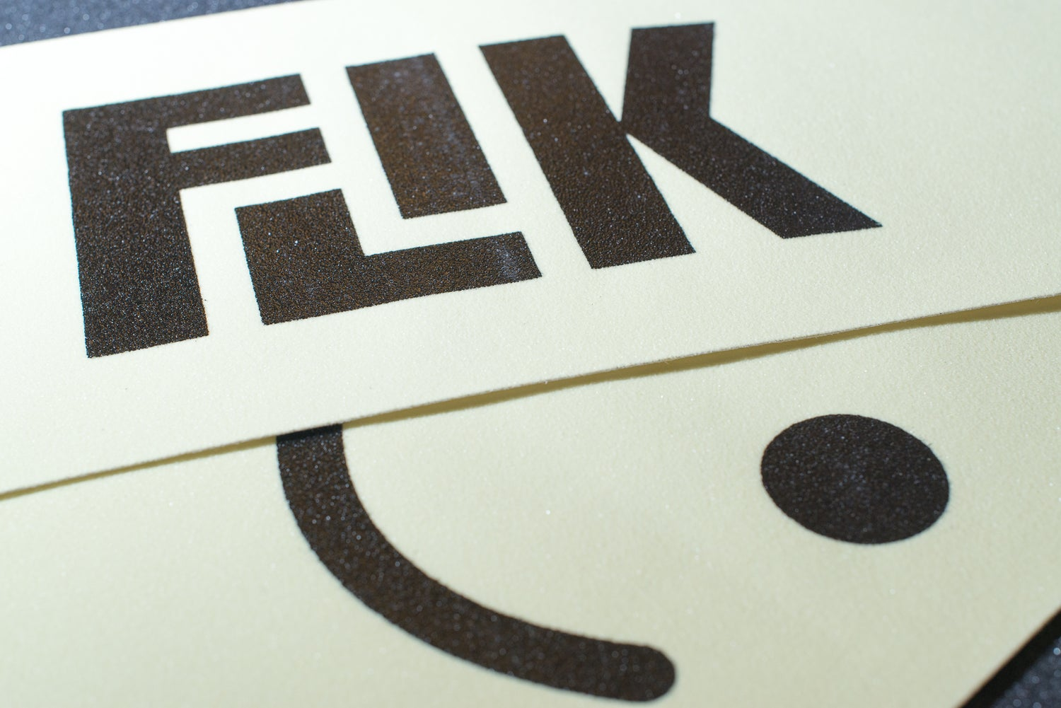 Image of FLIK LOGO GLOW IN THE DARK