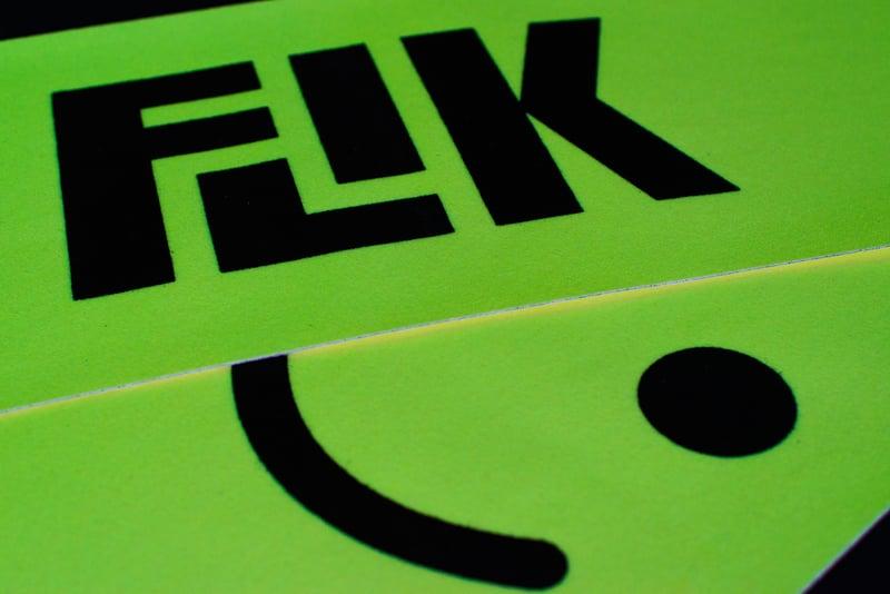 Image of FLIK LOGO GLOW IN THE DARK