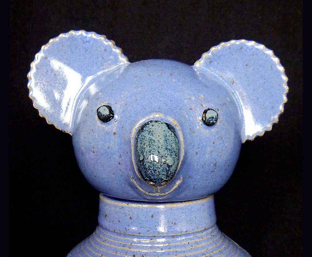 Image of Clancy, the Blue Koala