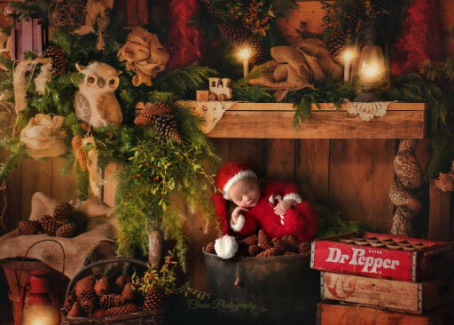 Image of Little Furry Santa Set