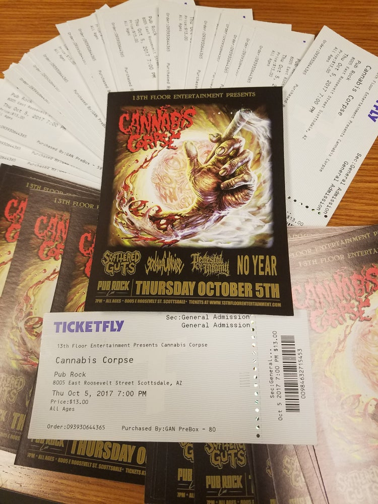 13th Floor Tickets to Cannabis Corse