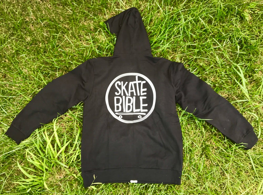 "Image of Limited Edition ""Skate Bible"" Zipper Hoodie"