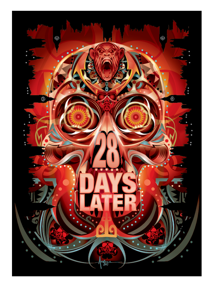"Image of 28 Days Later- 18""x24""- Edition of 15 - 2017"