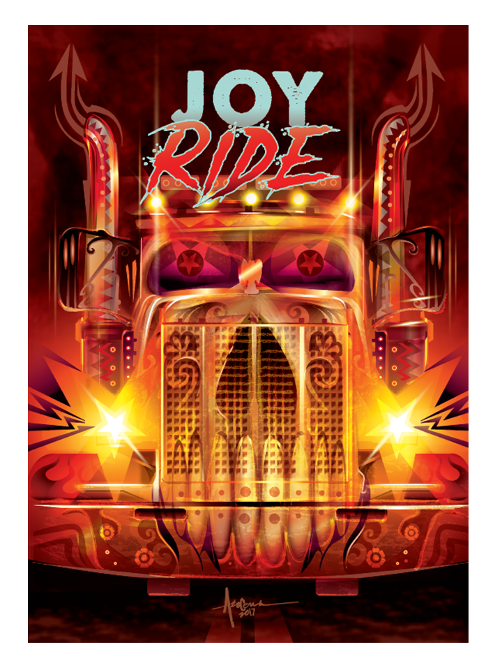 "Image of Joy Ride - 18""x24""- Edition 15 - 2017"