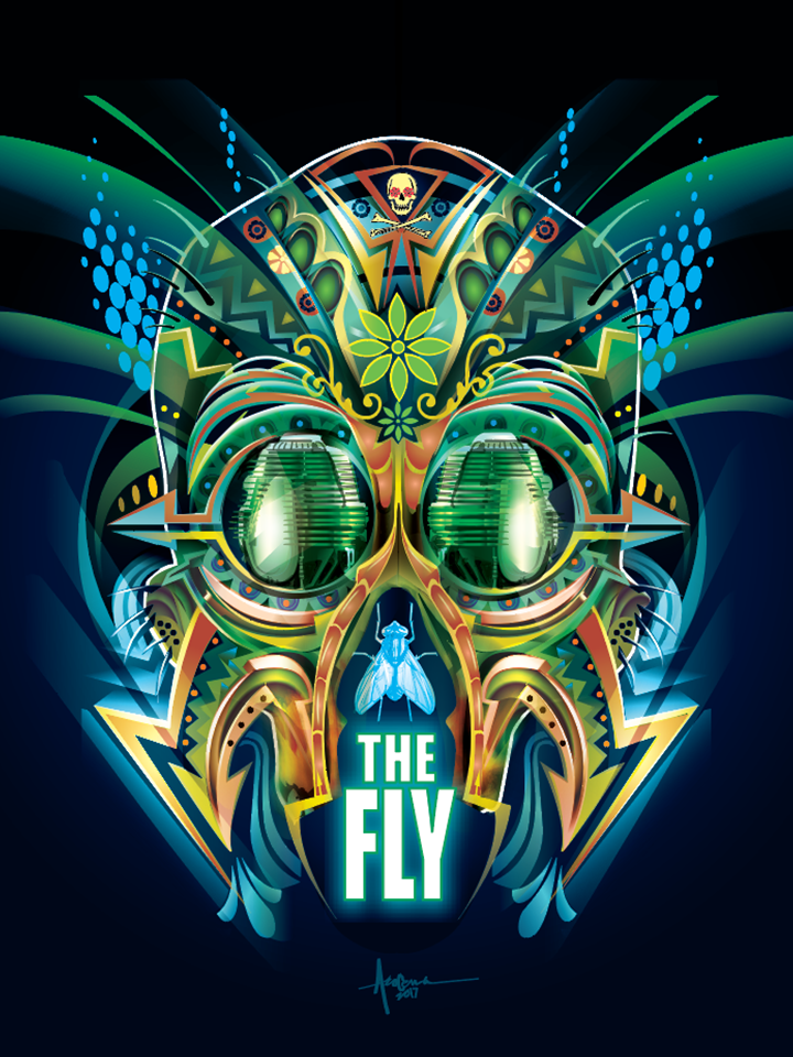 "Image of The Fly - 18""x24"" - Edition of 15 - 2017"