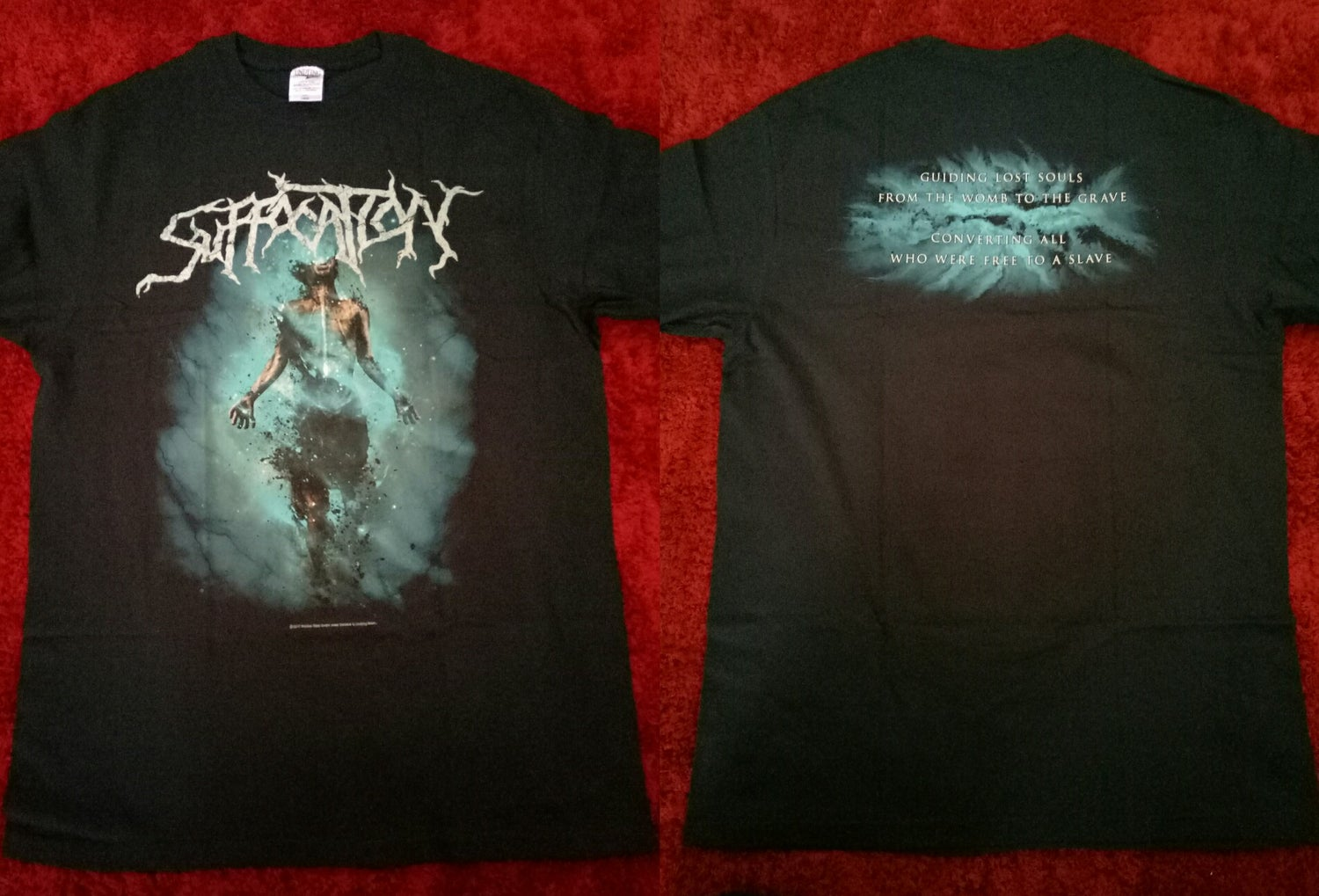 Image of SUFFOCATION - Of The Dark Light SS & LS
