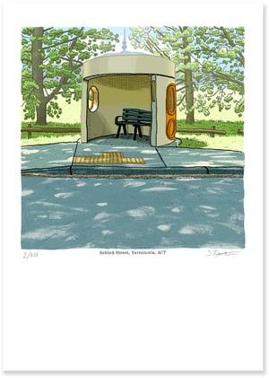 Image of Yarralumla, Schlich Street, digital print