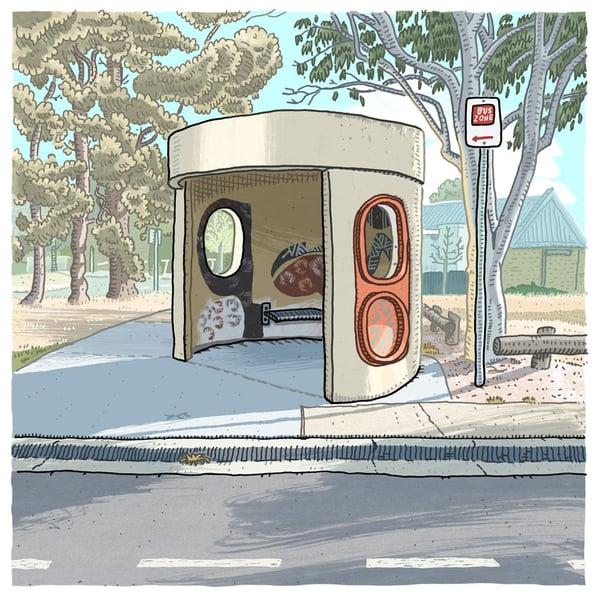 Image of Gilmore, Heagney Crescent, digital print