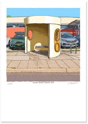 Image of Chisholm, Benham Street, digital print