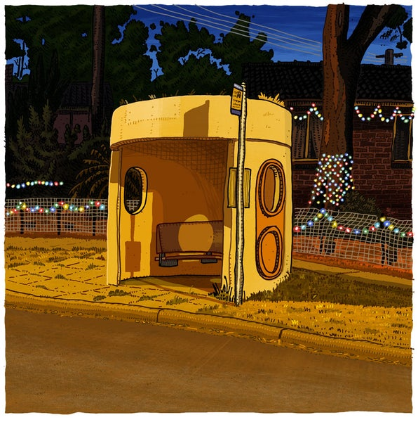 Image of Macquarie, Bennelong Cresc, digital print