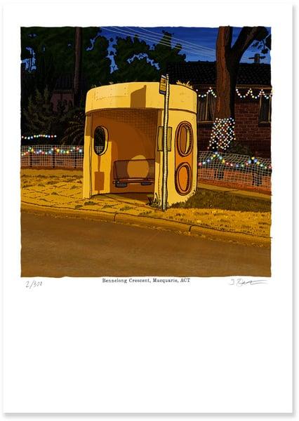 Image of Bennelong Cresc, Macquarie digital print