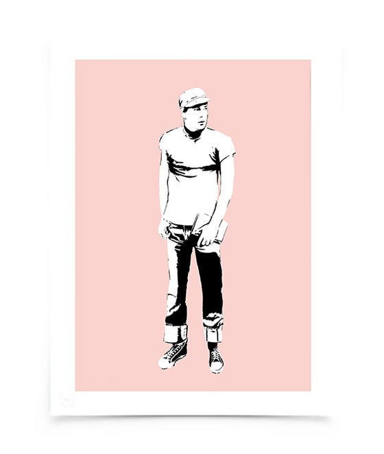 Image of JOE ORTON - screeprint
