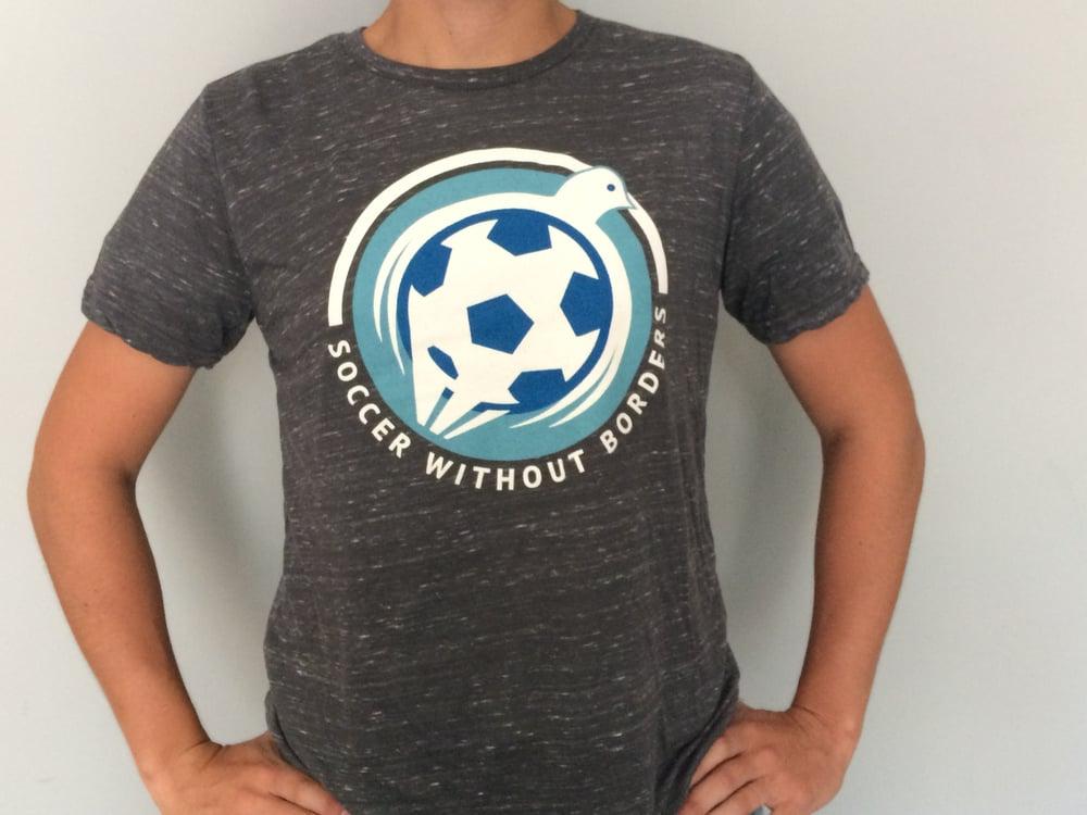 Image of SWB Heather Grey T shirt