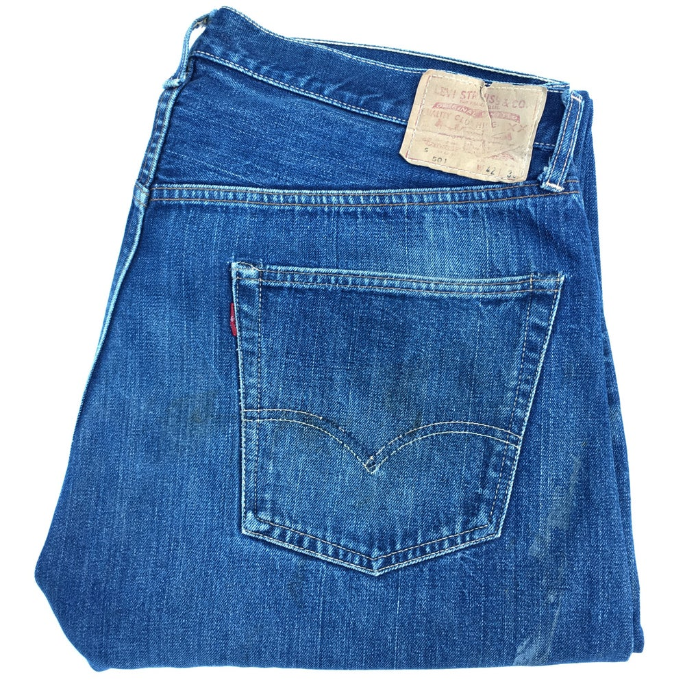 Image of Vintage LEVIS 501 S big E