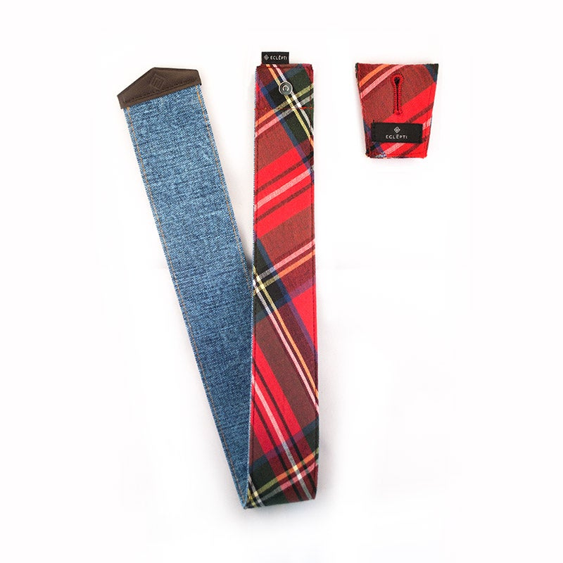 "Image of Tartan & Denim ""T"" by Eclepti"