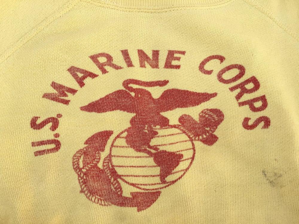 Image of VINTAGE U. S. MARINE CORPS SWEATSHIRT