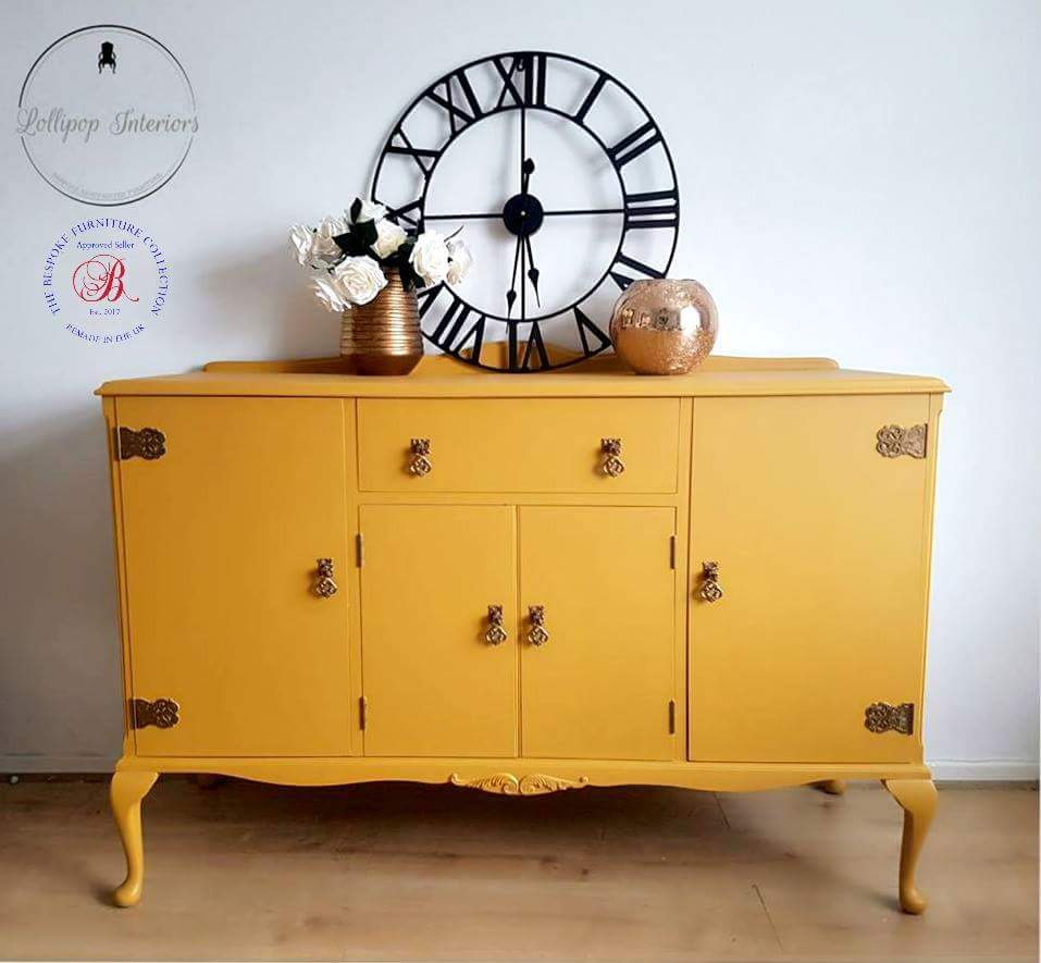 Image of Heirloom queen Anne style sideboard