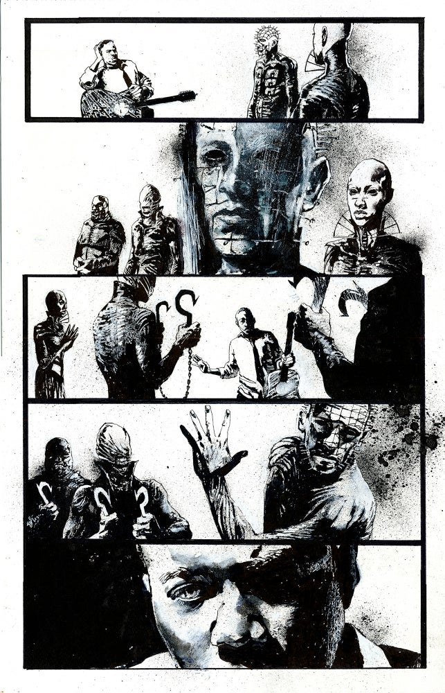 Image of Page 7 of Hellraiser Bestiary #2 from BOOM! Studios