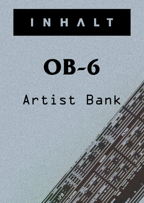 Image of INHALT Oberheim OB-6 Artist Bank