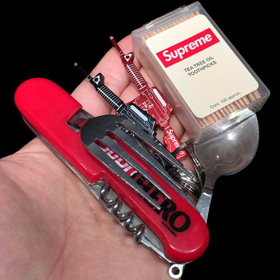 Image of 2014 AntiHero Hobo Tool, M16 Keychain, & Toothpicks