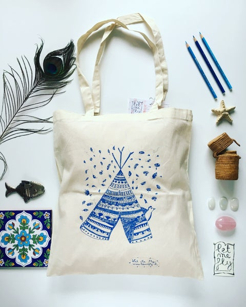 Image of Tote bag *tipi*