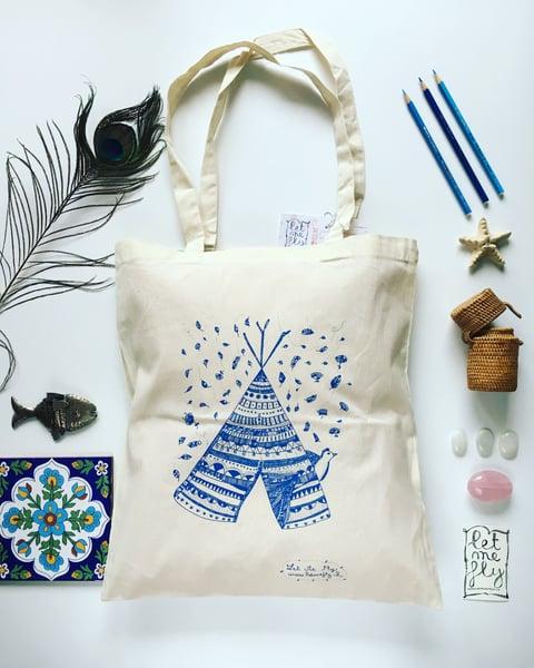 Image of Tote bag *tipi*