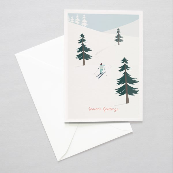 Image of Piste Holiday Card