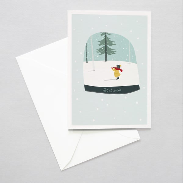 Image of Let it Snow Christmas Card