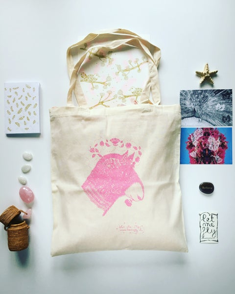 Image of Tote bag *donkey*