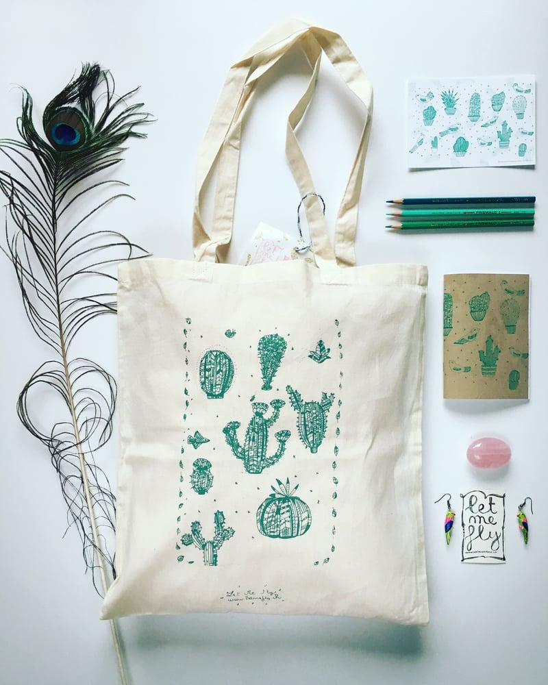 Image of Tote bag *cactus*