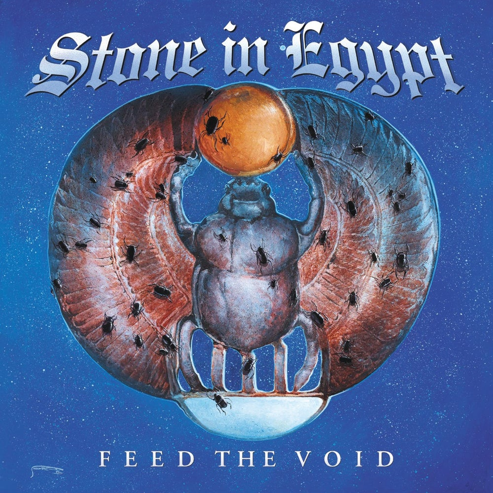 Image of STONE IN EGYPT - Feed The Void. LP. Transparent Blue Vinyl. Gatefold.