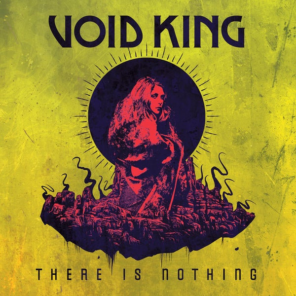 Image of VOID KING - There Is Nothing. LP. Black Vinyl.