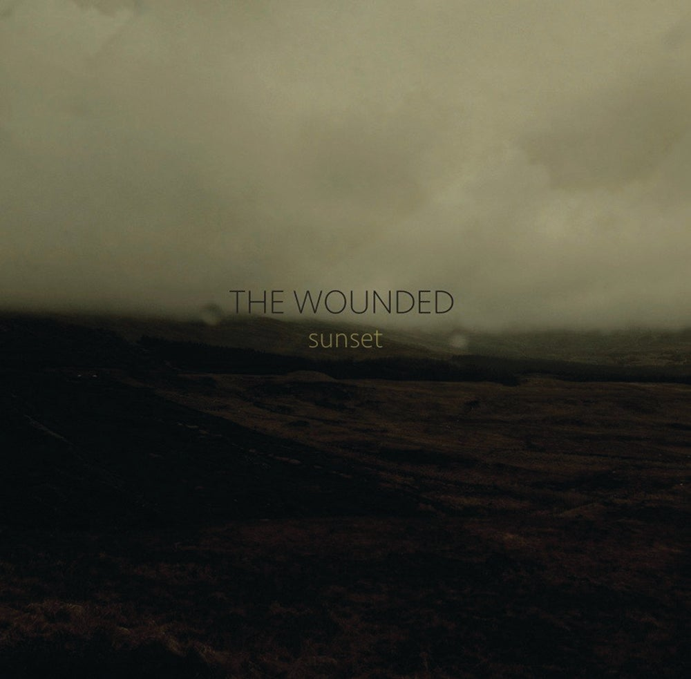 Image of THE WOUNDED - Sunset. 2LP. Clear/Gold Vinyl. Gatefold.