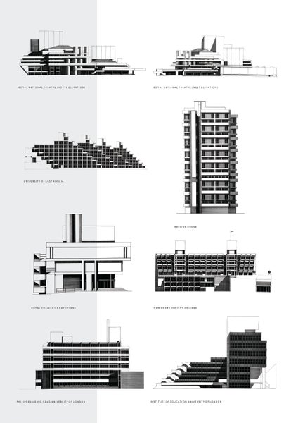 Image of The Architecture of Lasdun