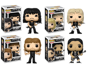 Image of Metallica Pop Vinyl Figures!