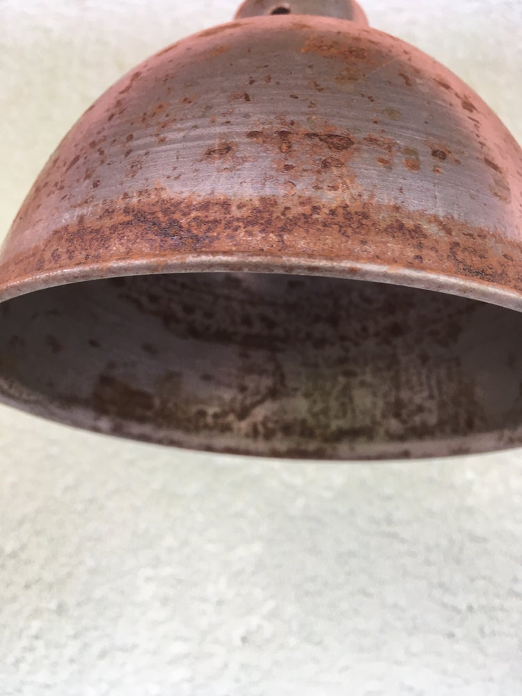 Image of Antique Finish Industrial Style Small Iron Shade