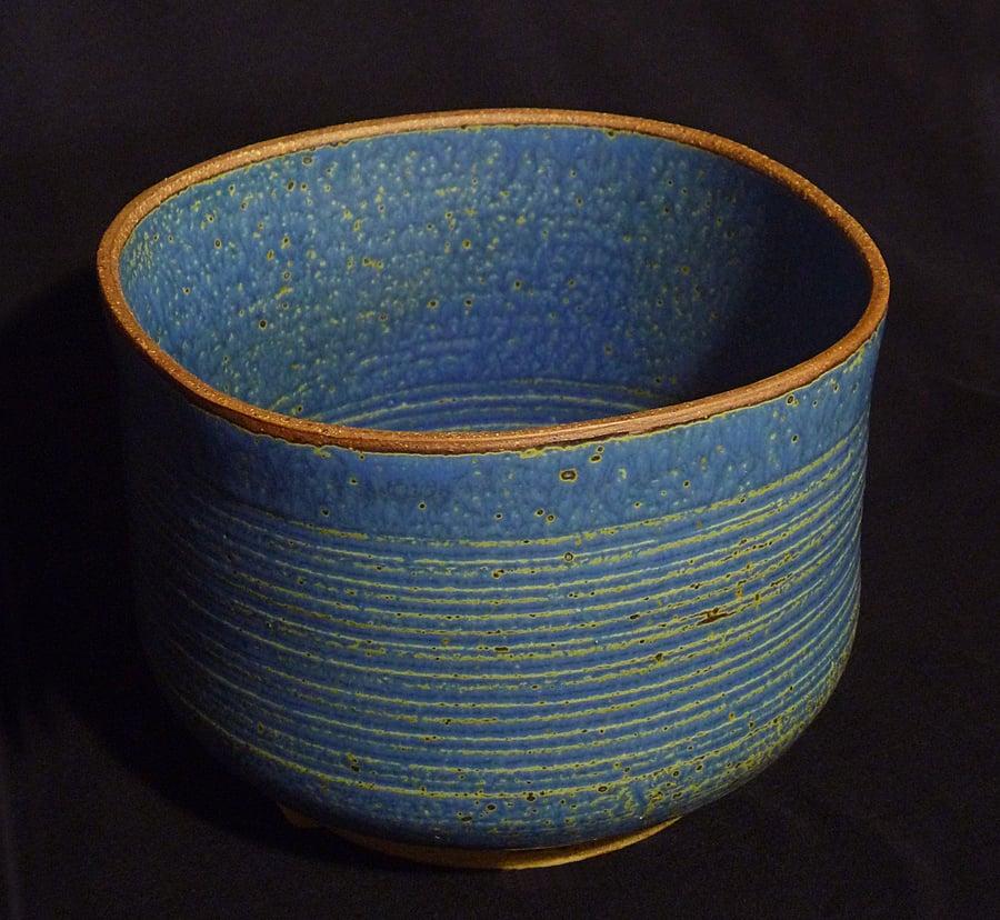 Image of Speckled Blue Bowl
