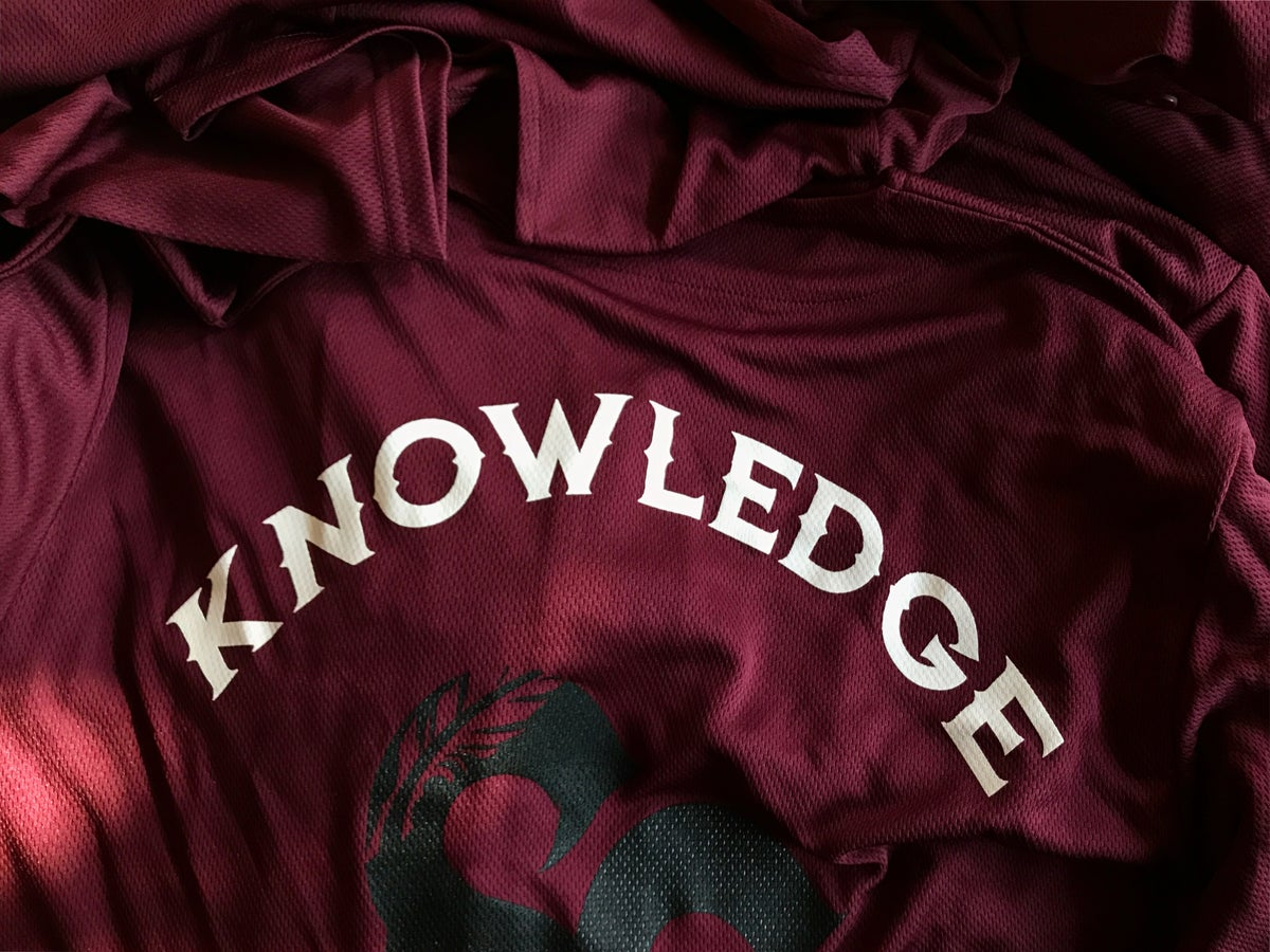Image of Royal Knowledge Jersey /maroon