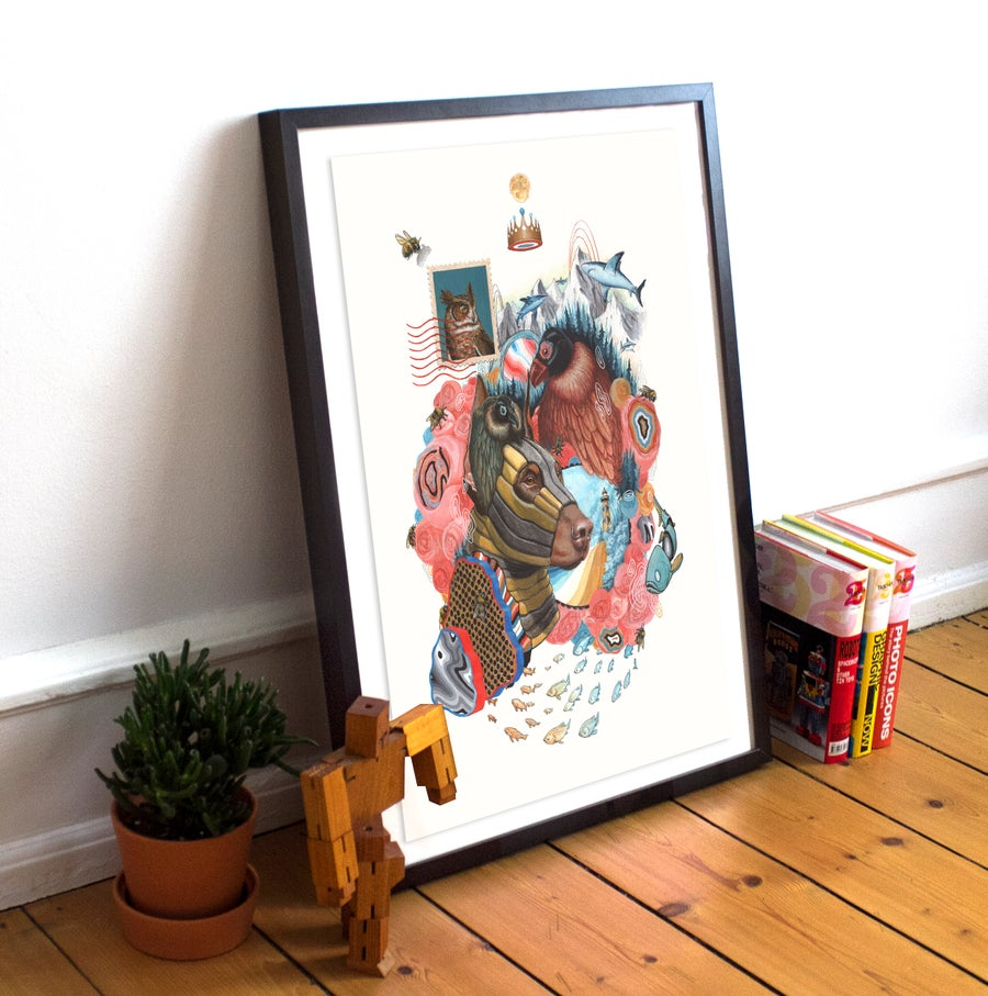 "Image of ""I'm growing as slow as I can"" 18""x24"" limited edition poster scratch & dent"