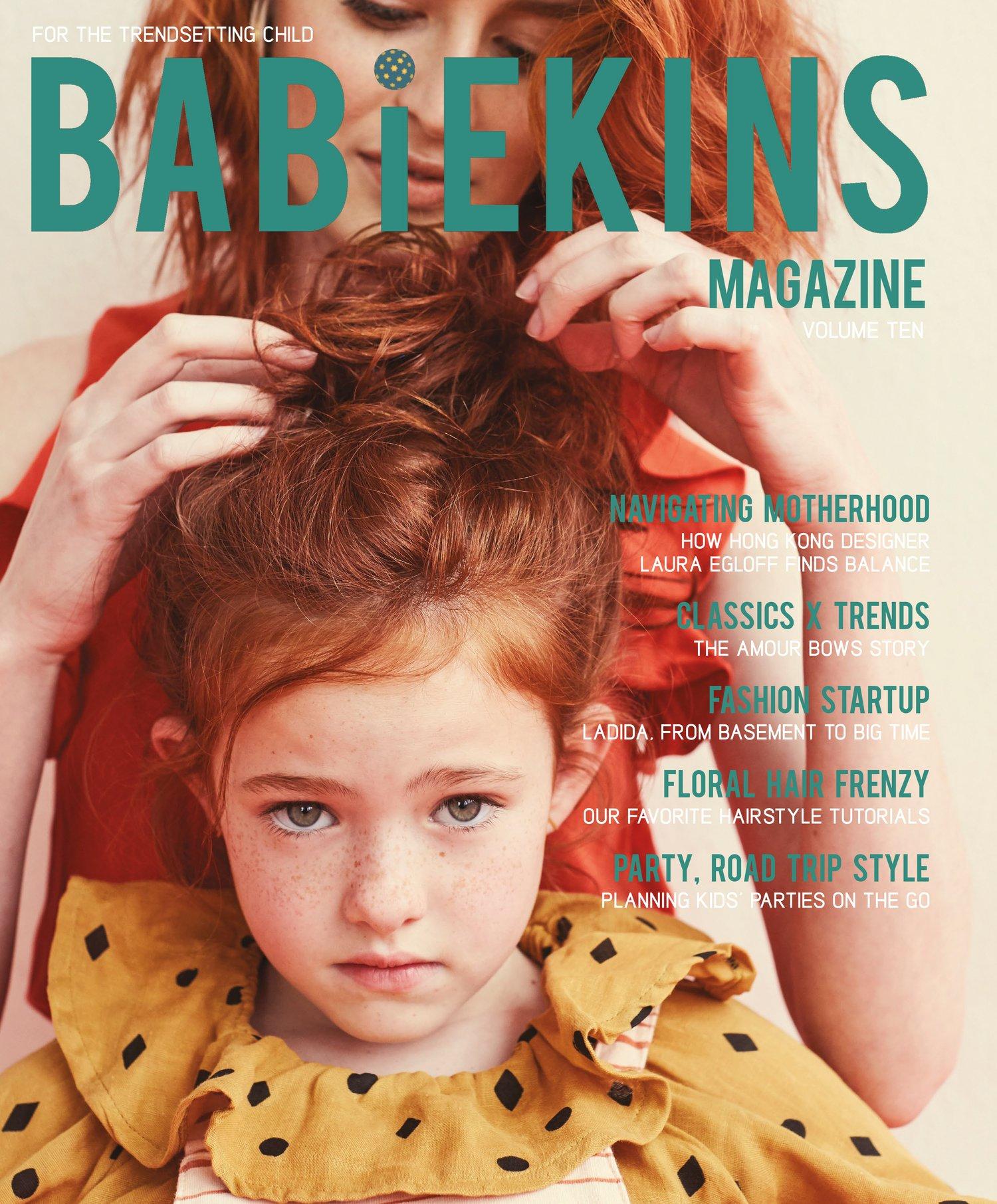 25f671133dd7 Image of Babiekins Magazine Issue 10 - Cover Option ONE