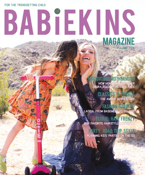 Image of BABIEKINS MAGAZINE ISSUE 10 - COVER OPTION TWO