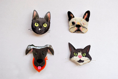 Image of Custom Pet Pins