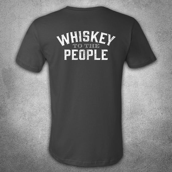 Image of Whiskey To The People T-shirt