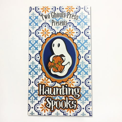 Image of Haunting Spooks - Lapel Pin