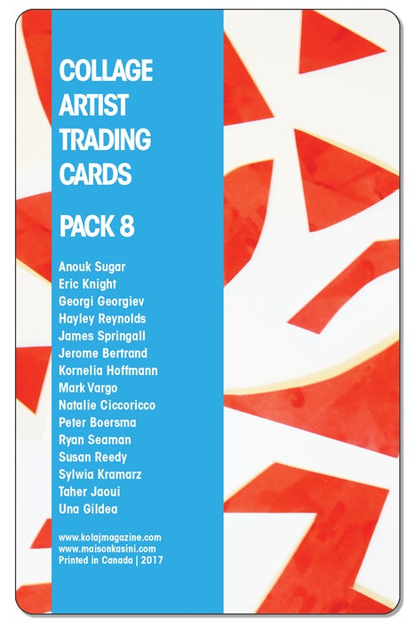 Image of Collage Artist Trading Cards, Pack Eight