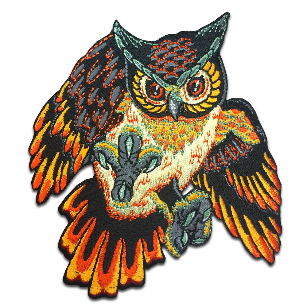 Image of Wise Owl - Patch