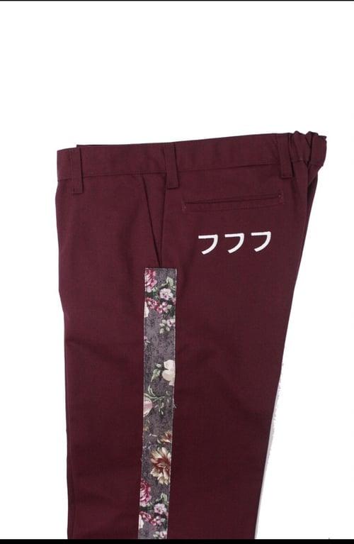 Image of 777 PANTS - REDWINE